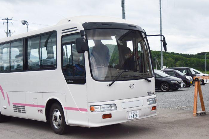 今回のツアーで使用した弊社のバス