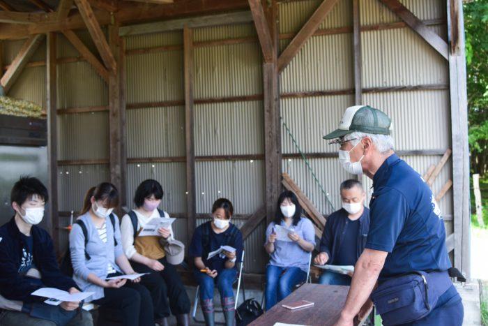 吉塚さんによる田野畑山地酪農の講座